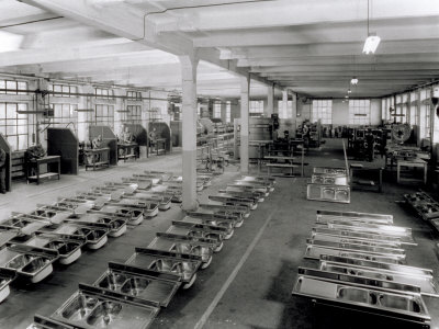 Interior of a Broggi-Izar Factory Photographic Print