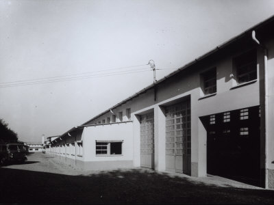 External View of the Ferrari Factory at Maranello Photographic Print