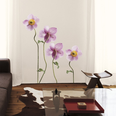 Japanese Anemones Mode (wallstickers)