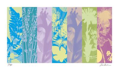 GardenSpirits II Giclee Print by Lois Bender