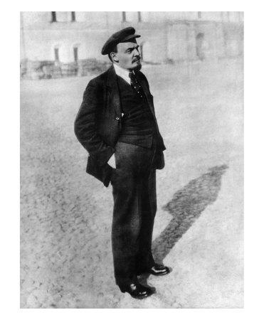 Vladimir Lenin in Moscow Giclee Print