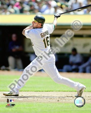 Oakland Athletics - Jason Giambi Photo Photo