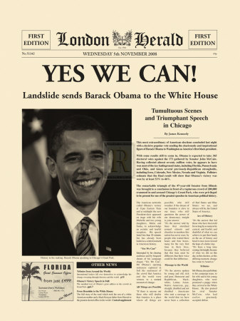 Yes We Can! Art by  The Vintage Collection