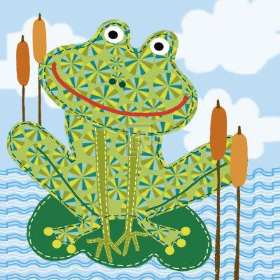 Frankie the Frog Posters by Jessie Eckel