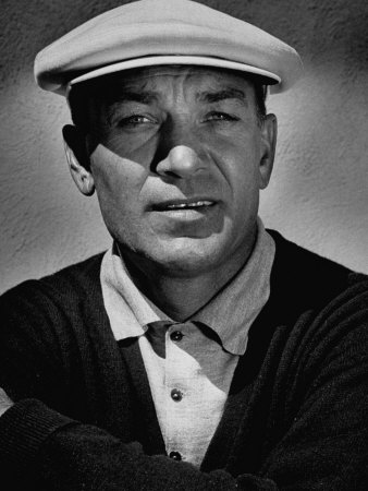 Portrait of Golfer Ben Hogan Premium Photographic Print
