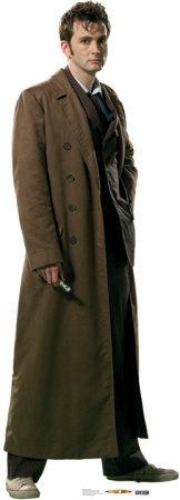 Doctor Who - Overcoat Cardboard Cutouts