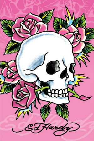 rose tattoo t shirts ed hardy skull tattoos