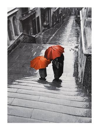 Bristol Rain, c.1954 Posters van Joseph Mckeown