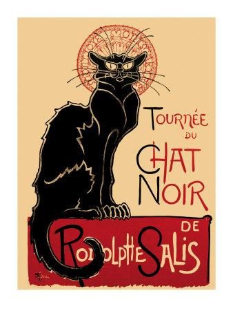 Tournee du Chat Noir, c.1896 Prints by Théophile Alexandre Steinlen