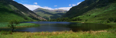 Mountain Landscape with Lake, Ireland Photographic Print by  Panoramic Images