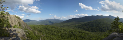 Clouds over a Mountain Range, Adirondack Mountains, New York State, USA Photographic Print by  Panoramic Images