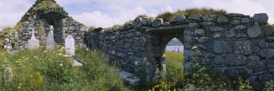Old Ruins of a Church, County Kerry, Munster, Republic of Ireland Photographic Print by  Panoramic Images