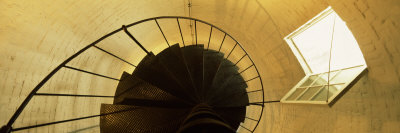 View of a Spiral Staircase of a Lighthouse, Key West Lighthouse, Key West, Florida, USA Photographic Print by  Panoramic Images