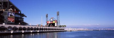Baseball Park at the Waterfront, At&T Park, San Francisco, California, USA Photographic Print by  Panoramic Images