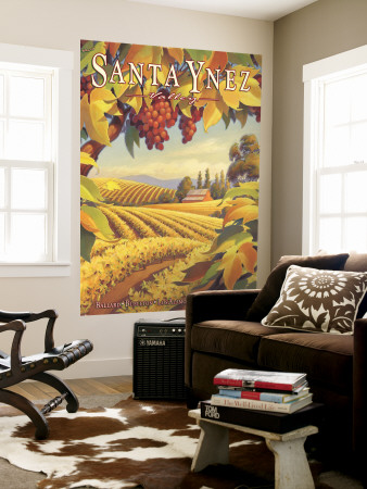 Santa Ynez Valley Wall Mural