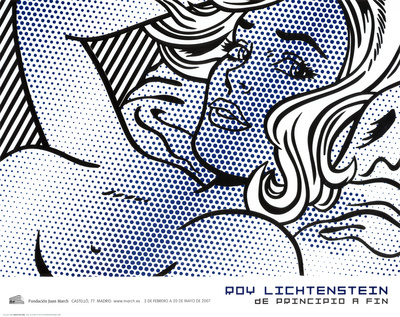 Seductive Girl Posters af Roy Lichtenstein