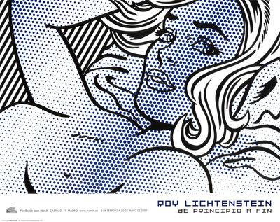 Seductive Girl Posters by Roy Lichtenstein