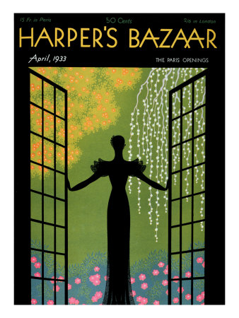 Harper's Bazaar, April 1933 Art Print