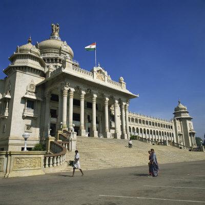 Vidhana Soudha, Bangalore, Karnataka State, India Photographic Print by Rolf Richardson