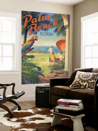 Palm Beach, Florida Wall Mural