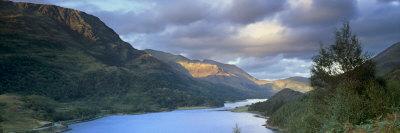 Panoramic View of Loch Leven, Near Glencoe, Highland Region, Scotland, United Kingdom, Europe Photographic Print by Patrick Dieudonne