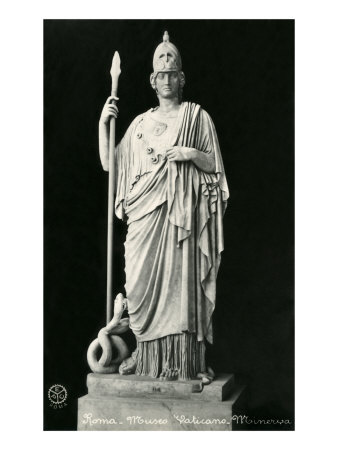 Statue of Minerva Posters
