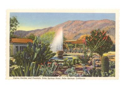 Cactus Garden, Palm Springs, California Art
