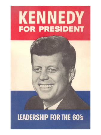 Jfk Election Poster Posters