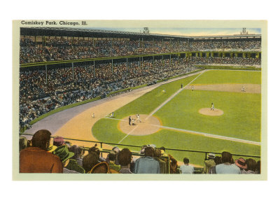 Comiskey Park, Chicago, Illinois Posters!