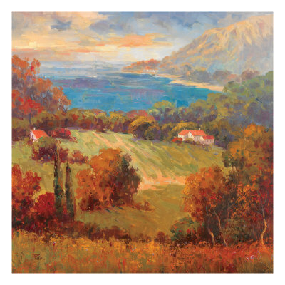 Tuscan Hill View Prints by K. Park