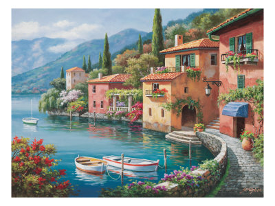 Villagio Dal Lago reproduction procédé giclée