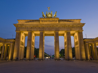 Brandenburg Gate, Pariser Platz, Berlin, Germany Photographic Print by Neale Clarke
