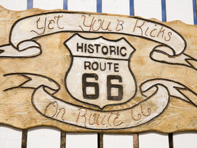 Memorabilia, Route 66 Motel, Barstow, California, United States of America, North America Photographic Print