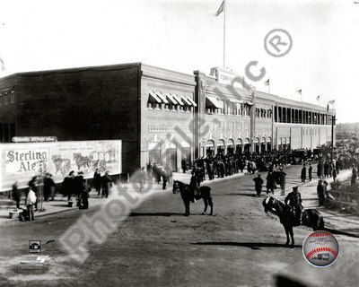MLB Fenway Park - 1912 Photo
