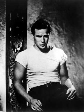 A Streetcar Named Desire, Marlon Brando, 1951 Premium Poster