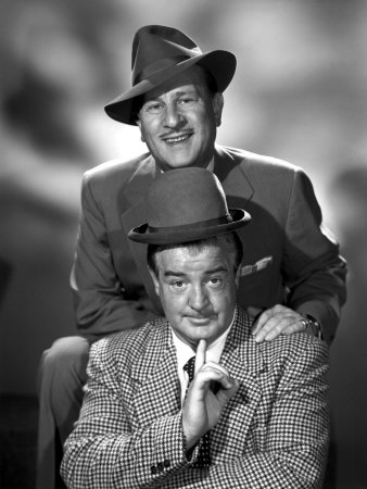 Abbott & Costello in the Early 1950s Premium Poster