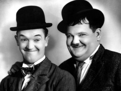 Laurel et Hardy Premium Poster