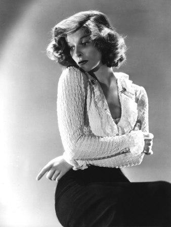 Katharine Hepburn, c.1930s Photographic Print