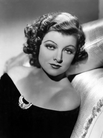 Myrna Loy, December 21, 1935 Photo by Clarence Sinclair Bull