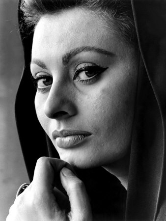 Fall of the Roman Empire, Sophia Loren, 1964 Photo