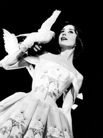 Funny Face, Audrey Hepburn, 1957 Photo