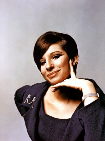 Barbra Streisand in the Late 1960s Photo
