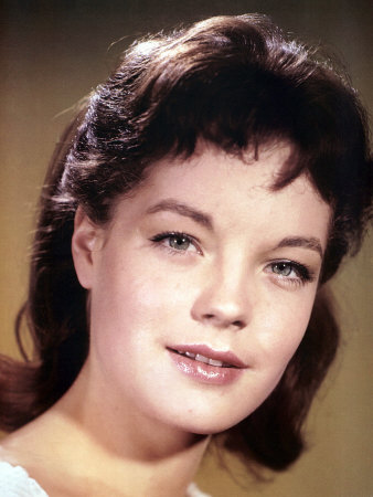 Romy Schneider, 1950s Photo