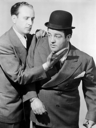 Bud Abbott, Lou Costello in the 1930s Premium Poster