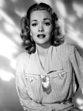 Jane wyman around 1940 premium poster