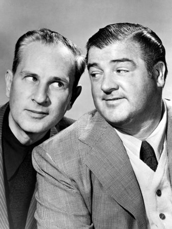 Bud Abbott and Lou Costello, Mid 1940s Premium Poster