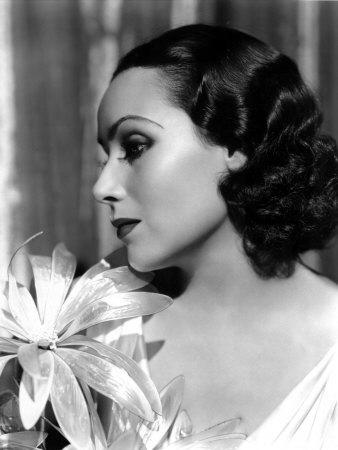 Portrait of Dolores Del Rio, c.1934 Photo