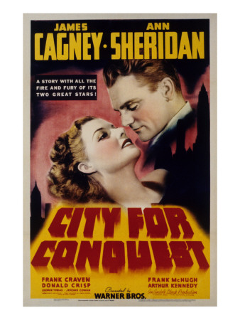 City for Conquest, Ann Sheridan, James Cagney, 1940 Photo
