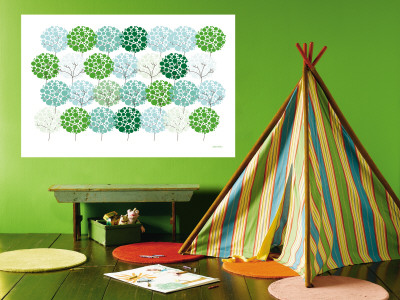 Green Park Wall Mural by  Avalisa