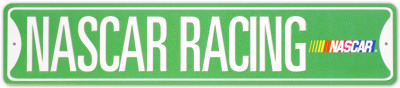 Nascar Racing Street Sign Blechschild
